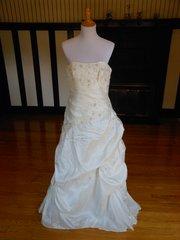 Romantic Bridals Wedding Dress 2442NC
