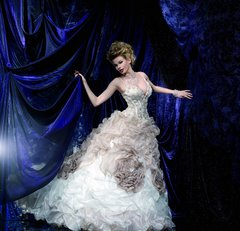 Kelly Star Wedding Dress KS116-31 Ivory