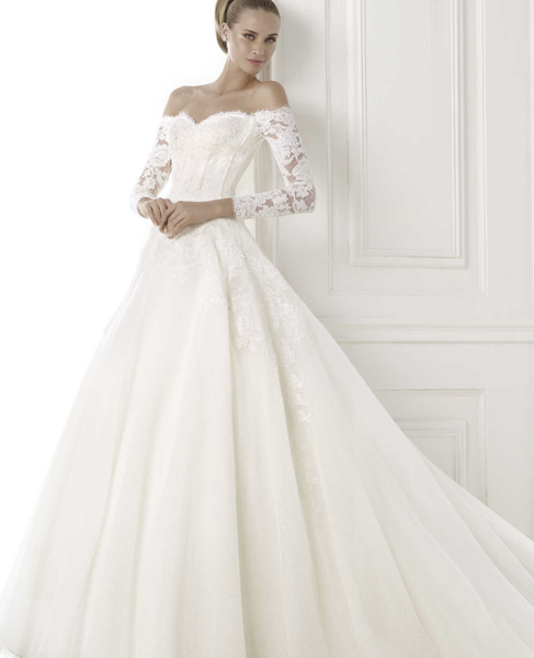 Pronovias Wedding Dress Gown Bespin Anne Bridal Wedding