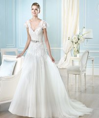 San Patrick by Pronovias Wedding Dress Haldis