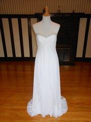 Galina by David's Bridal Wedding Dress Y9494