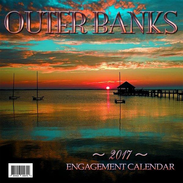 """2017 12"""" x 12"""" OBX calendar (Back cover)"""
