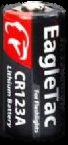 EagTac CR123 Battery (32-Pack)