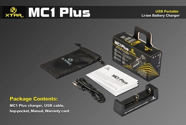 XTAR MC1 Plus Li-ion Intelligent Charger