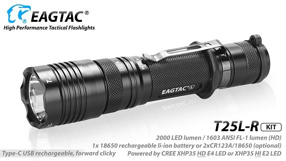 EagTac T25L-R (RECHARGEABLE)