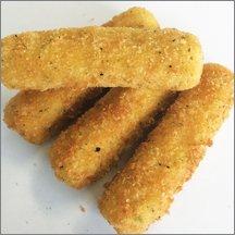 Oven Ready Mozzarella Cheese Sticks