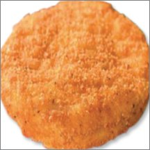 Fully Cooked Whole Grain Breaded Chicken Patty