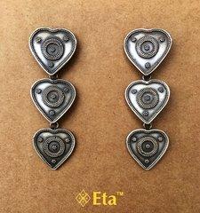 Silver rava fine earring