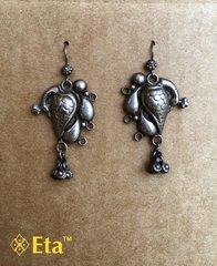Silver mor earring