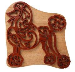 Poodle Wooden Secret Puzzle Box