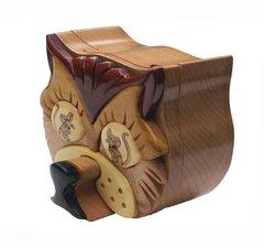 Cat & Mouse Puzzle Box