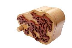 Wild Stallion Wooden Secret Puzzle Box