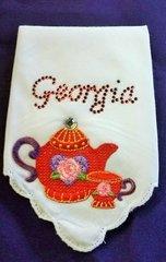Georgia Teapot Hanky