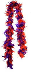 Red and Purple Feather Boa
