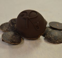 Raspberry Diabetic Friendly Dark Chocolate Truffle