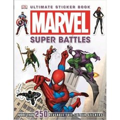 Marvel Super Battles Sticker Book