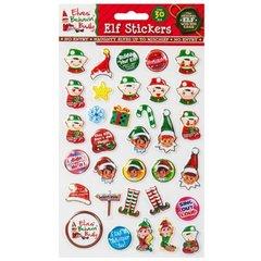 Elf Christmas Stickers