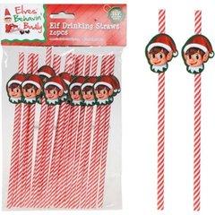 20 pcs Elf Drinking Straws