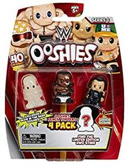 WWE Series 1 Ooshies - Pencil Toppers 4 pack