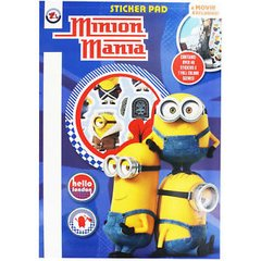 Minion Mania Sticker Pad