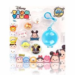 Tsum Tsum Disney Mini Figures with Keychain 5 pack