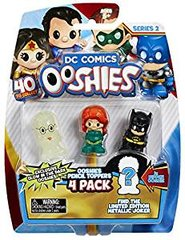 DC Comics Series 2 Ooshies Pencil Toppers 4 pack