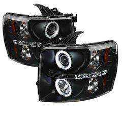 Spyder Auto CCFL Projector Halo Chevy 07-14 2500/3500