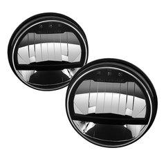 Spyder Auto LED Crystal Headlights for Jeep JK