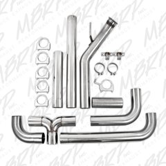 """MBRP XP Series 4"""" Turbo Back Dual Stack Exhaust Kit '04.5 - '07 5.9L"""