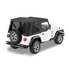 Bestop Sailcloth Replace A Top for TJ Wrangler