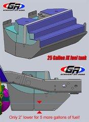GenRight JK 25 Gal Fuel Tank