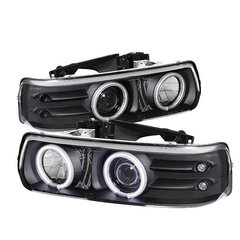Spyder Auto CCFL Projector Halo 99-02 Chevy 2500/3500