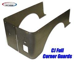 GenRight CJ Corner Guard Set, Full Standard Steel