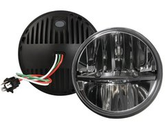 "Hellfire 7"" Round Headlight (Pair)"