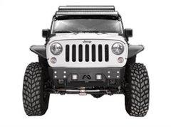 Fab Fours FMJ Stubby Bumper Jeep JK