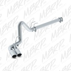 """MBRP Dual Outlet Installer Series 4"""" Filter Back Exhaust System"""