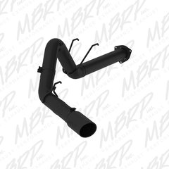 "MBRP 4"" Black Series Exhaust for Ford 17+ 6.7L"