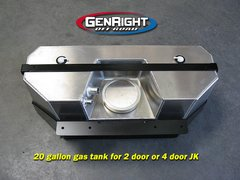 GenRight JK 20 Gal Single Tank