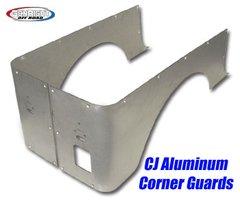 GenRight CJ Corner Guard Set, Full Standard Alum