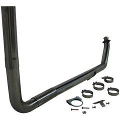 """MBRP XP Series 4"""" Turbo Back Stack Exhaust System"""