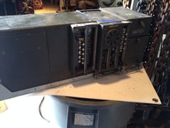 SCR 528 radio w/ tray and cover, used