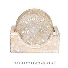 Rich Tea Biscuit Coasters