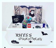 Wooden Halloween Box