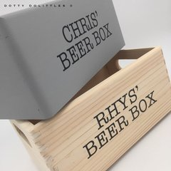 Wooden Beer Boxes