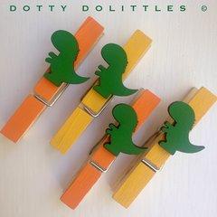 Dinosaur Magnetic Pegs