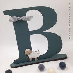 Baby Lamb Letter