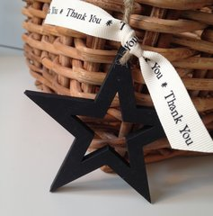 'Thank You' Wooden Star