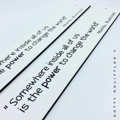 'Somewhere inside all of us ...' Matilda Wooden Sign