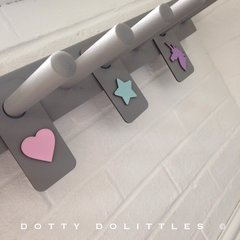 Wooden Welly Rack Hangers