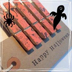 Halloween Magnetic Pegs